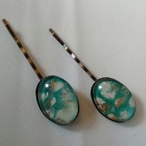 Sky hair pin set